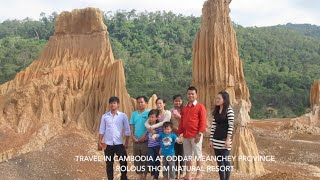 Dey Rolous Thom Natural Resort at Oddar Meanchey Province in Cambodia