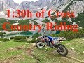 1:30h of Cross Country Enduro riding - Honda CRF450R