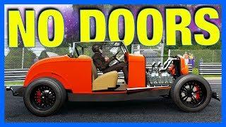 Forza 7 Online : NO DOOR RACING LEAGUE!! **No Door Glitch**