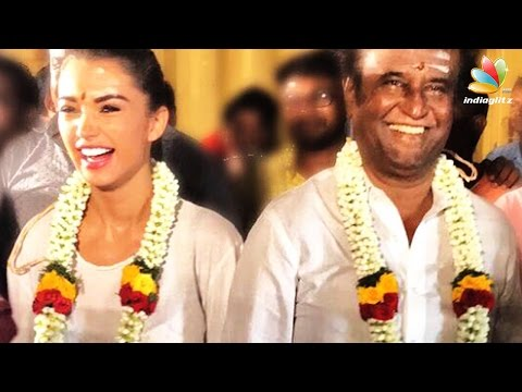 Rajinikanth, Amy Jackson celebrate Ayudha Pooja with 2.0 crew | Director Shankar
