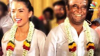 Video Rajinikanth, Amy Jackson celebrate Ayudha Pooja with 2.0 crew   Director Shankar download MP3, 3GP, MP4, WEBM, AVI, FLV Agustus 2017