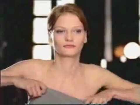 Enf Womans Dress Slides Off Lotion Ad