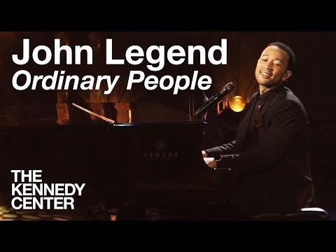 """John Legend - """"Ordinary People""""   LIVE At The Kennedy Center"""
