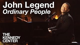 "John Legend, ""Ordinary People"" -- Live at the Kennedy Center"