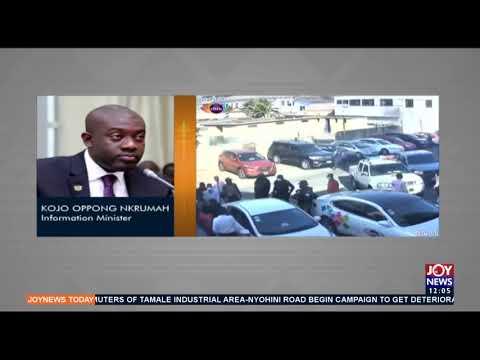 Citi FM Reporter's Abuse: Info. Minister visits premises of company - Joy News Today (14-5-21)