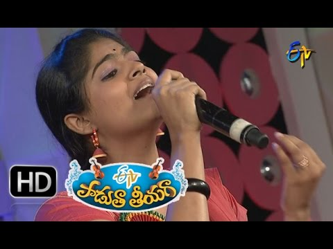 Enno Yellu Gatinchi Padyam - Shivani Performance in ETV Padutha Theeyaga 11th January 2016