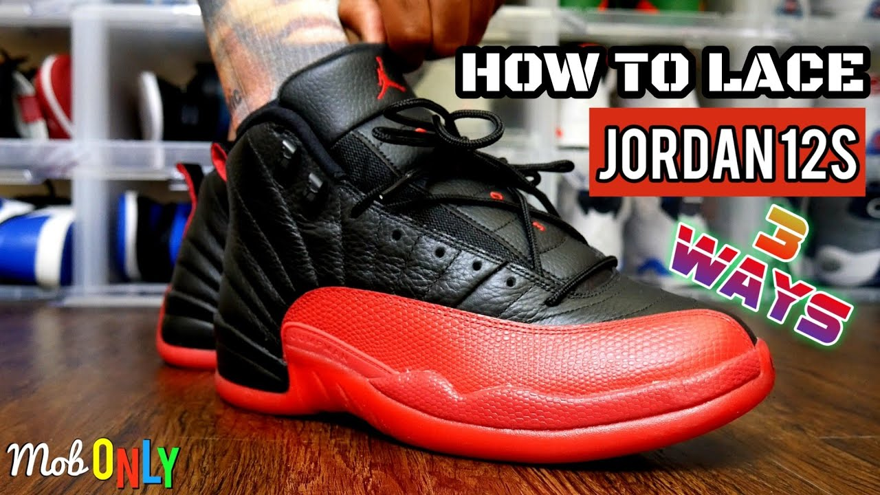 HOW TO LACE THE AIR JORDAN 12 - 3