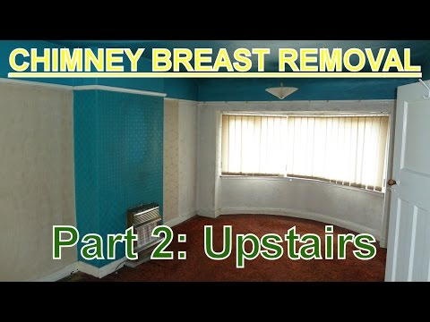 Chimney Breast Removal (part 2) Upstairs / Bedroom(s).