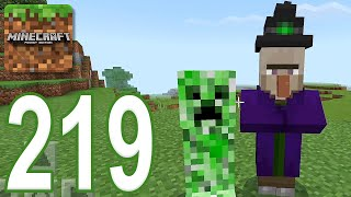 Minecraft: PE - Gameplay Walkthrough Part 219 - The Snow Witch (iOS, Android)