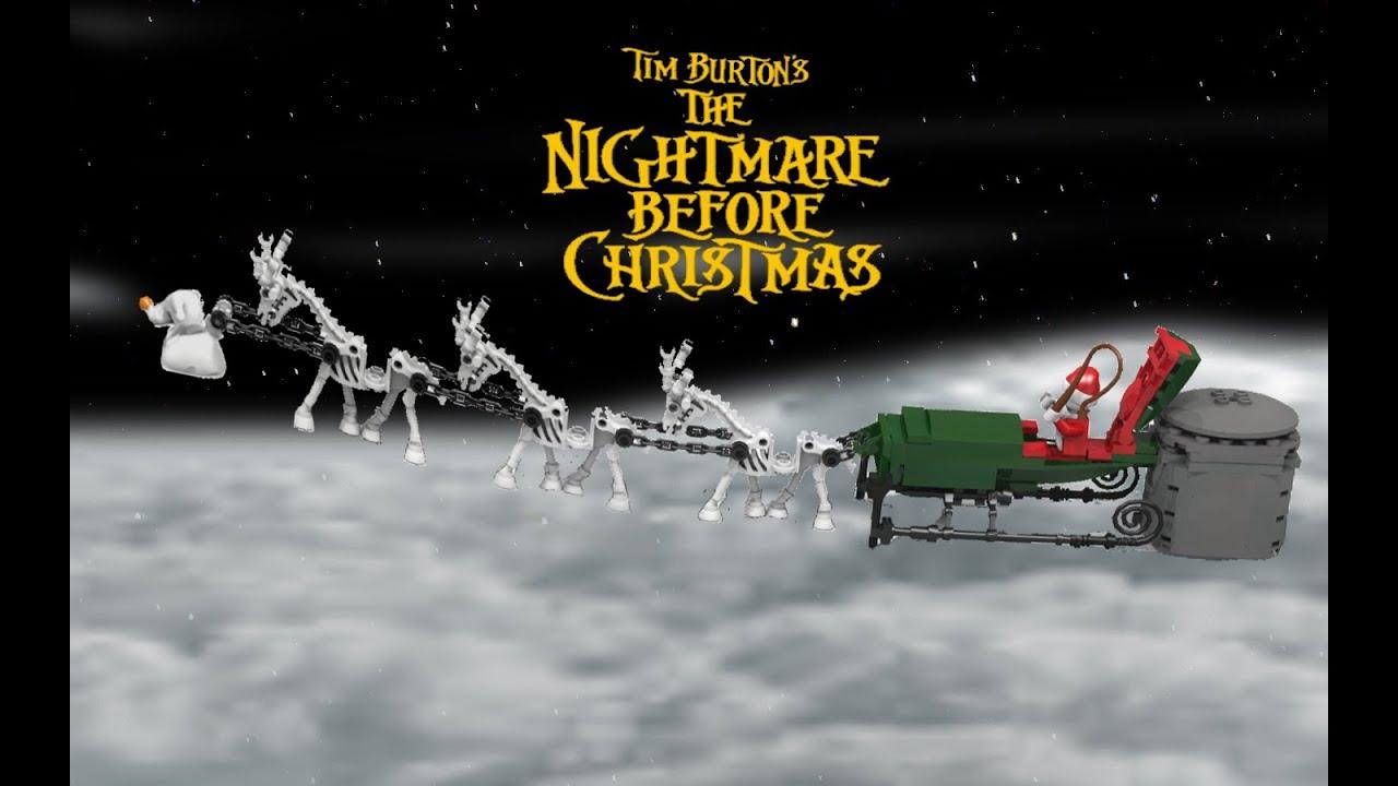 lego Ideas Nightmare Before Christmas: Jack's Santa Sleigh ...
