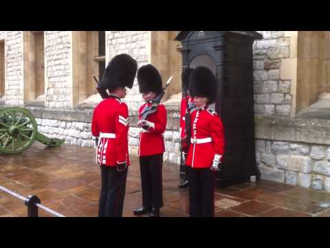 Tower of London - changing of the guard