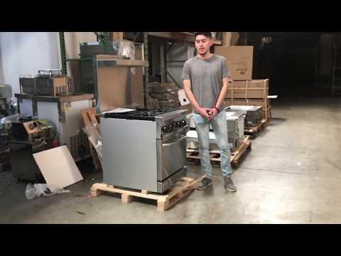4 Burner American  Range  Ranges Burner Commercial Oven Ovens Propane LP Natural Gas
