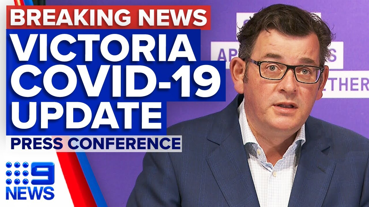 Coronavirus Victorian Premier Provides Covid 19 Update 9 News Australia Youtube