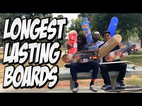 LONGEST LASTING SKATEBOARDS ??? MINI LOGO UNBOXING !!!