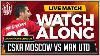 CSKA Moscow vs Manchester United with Mark Goldbridge Watchalong