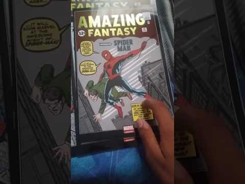 Amazing fantasy #15 unboxing