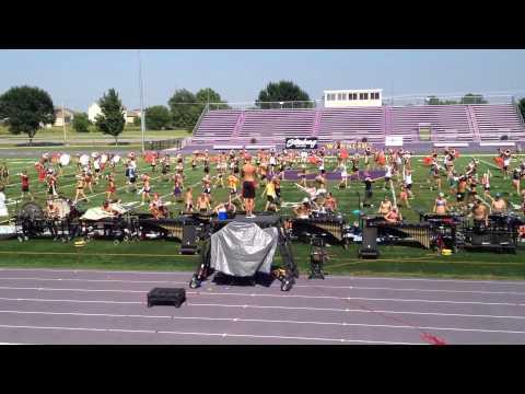 Colts 2013 Rehearsal Waukee