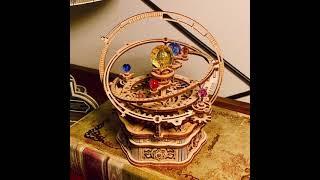 かわいい太陽系儀を組み立ててみた