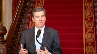 "N.C. governor signs ""bathroom bill"" repeal"