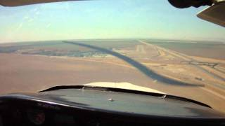 Harris Ranch adventure part 5:  Landing on the thin runway at …