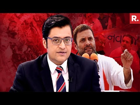 Rahul Gandhi Needs Chits To Answer Questions | The Debate With Arnab Goswami
