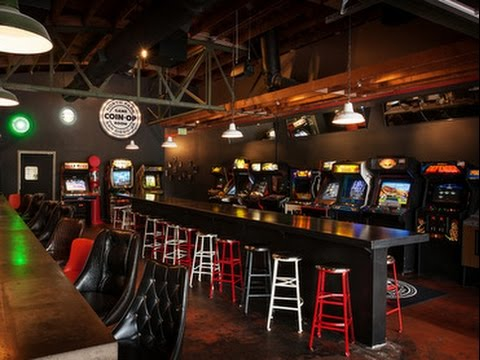 Barcade walkthrough  Coin Op Gameroom in San Diego Ca