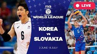 Korea v Slovakia - Group 2: 2017 FIVB Volleyball World League
