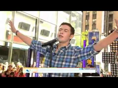 Scotty McCreery - I Loves You This Big - Today Show 06/02/11