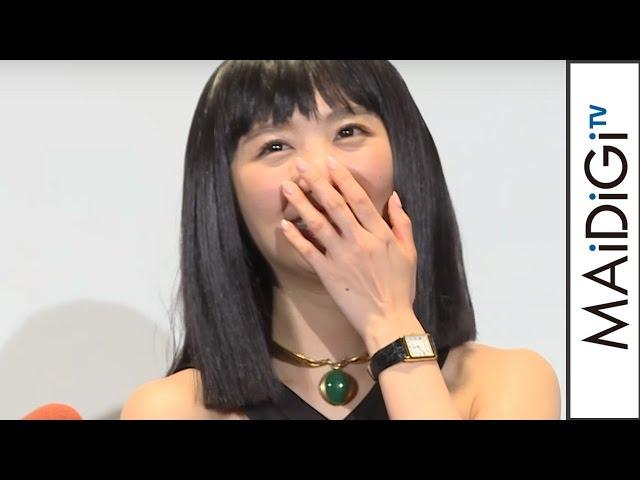 おのののか、足のにおい「今は無臭」 妹にも確認させる  BD&DVD「トランスポーター イグニション」発売イベント 会見2 #Nonoka Ono #event