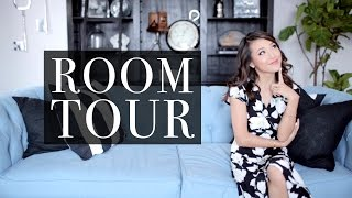 FROM HOUSE TO HOME | My Living Room Tour!