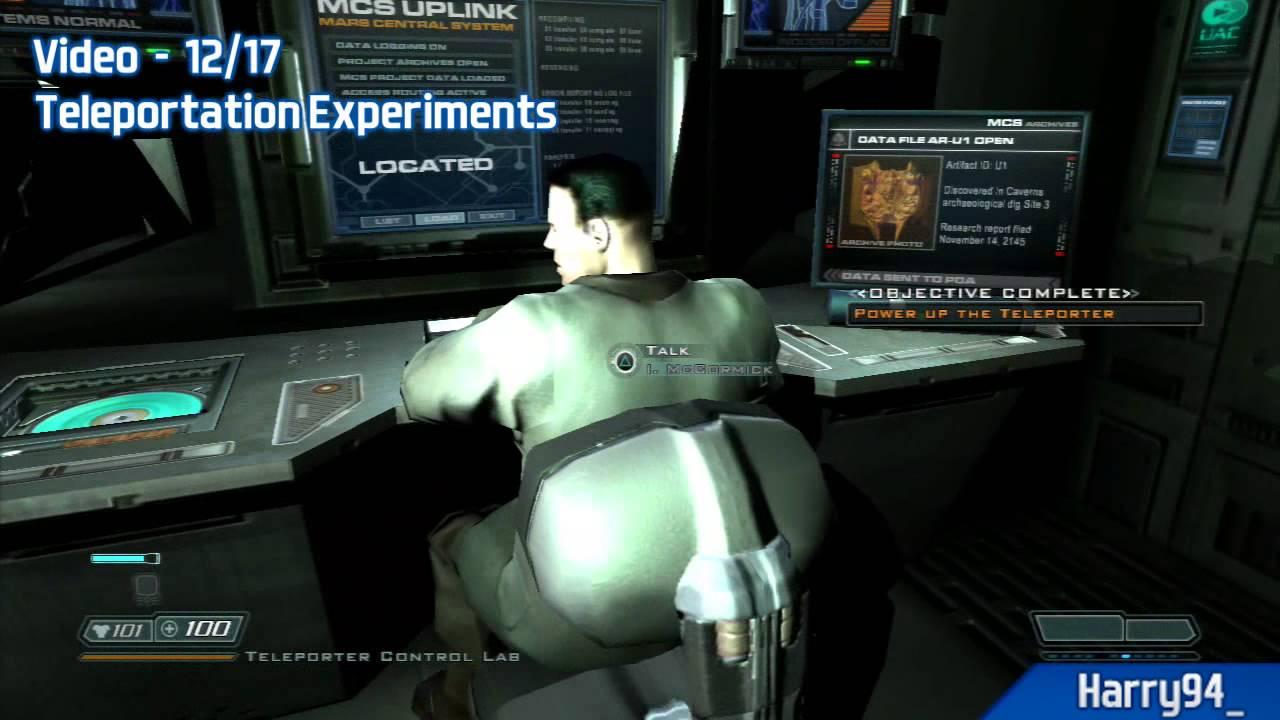 Doom 3 Bfg Edition All Pda Lockers Video Locations Delta Labs