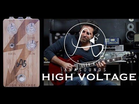 Anasounds high voltage demo by martial allart