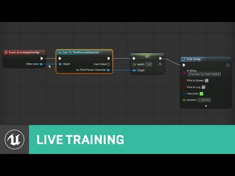 Blueprint Communications | Live Training | Unreal Engine