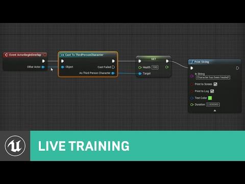 Blueprint Communications   Live Training   Unreal Engine