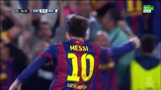 Lionel Messi vs Bayern Munich 06/05/2015 (Home) Spanish Commentator HD