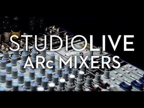 PreSonus—StudioLive ARc Mixers with The Revelries