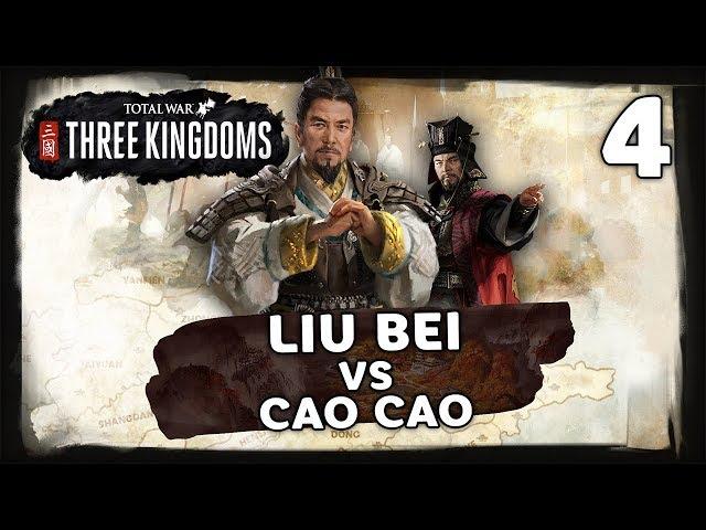 Liu Bei Vs Cao Cao Multiplayer Campaign - Total War: Three Kingdoms - Livestream