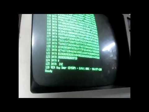 Vintage Volts Video - Episode 1 - TRS-80 Transfer