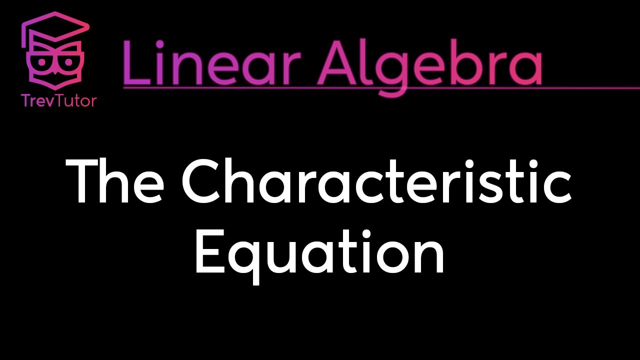 how to find eigenvalues from characteristic polynomial