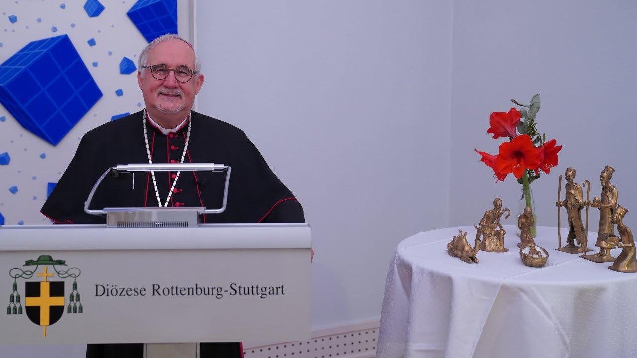 Neujahrsansprache 2021 von Bischof Gebhard Fürst