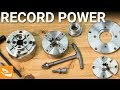 Record Power SC Series Chucks and Jaws | Woodturning