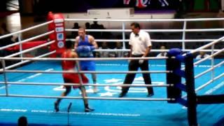 世界学生ボクシング選手権チェンマイ ウクライナvsタイ