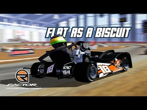 rFactor: Flat as a Biscuit (Dirt Kart @ Chilli Bowl)