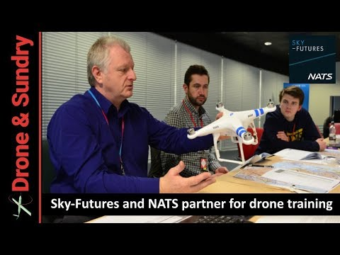 Sky-Futures and NATS team up for drone training