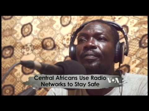 Africa 54: Central Africans Use Radio Networks To Stay Safe