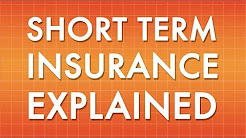Short Term Insurance Explained