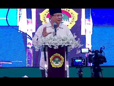 Prabowo: Saya di Sini Tidak Minta Dukungan di Pilpres