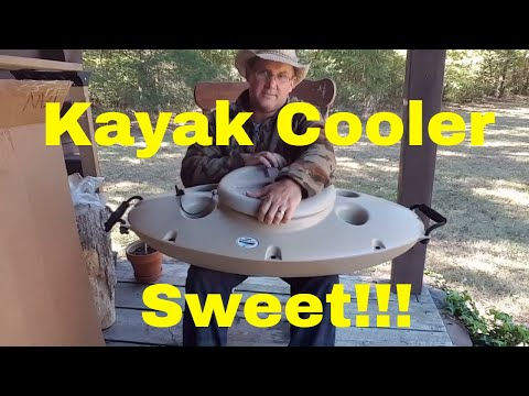 Creekkooler floatation cooler & Stolquist PFD unboxing from Austin Kayak.