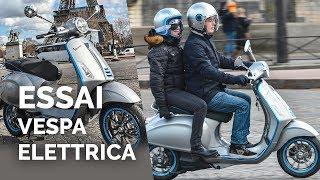 Essai scooter électrique Vespa Elettrica