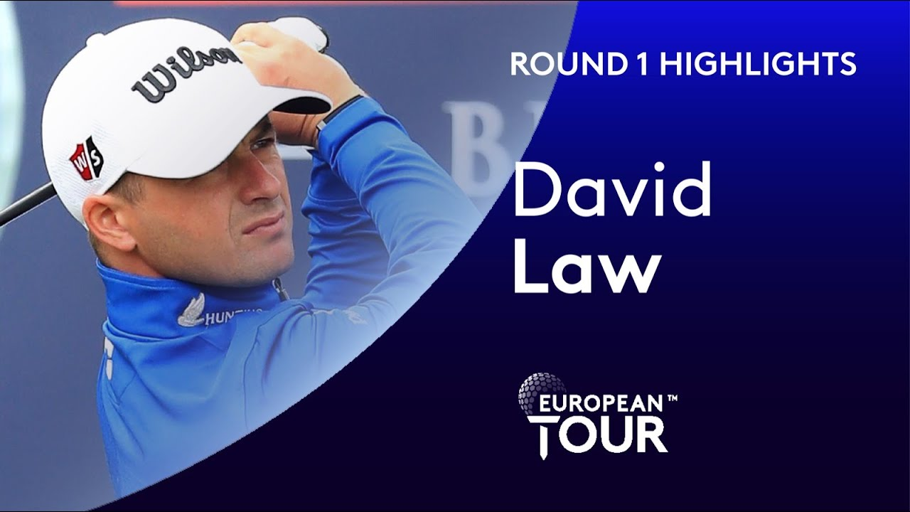 David Law shoots an opening 7 under par | 2020 Betfred British Masters